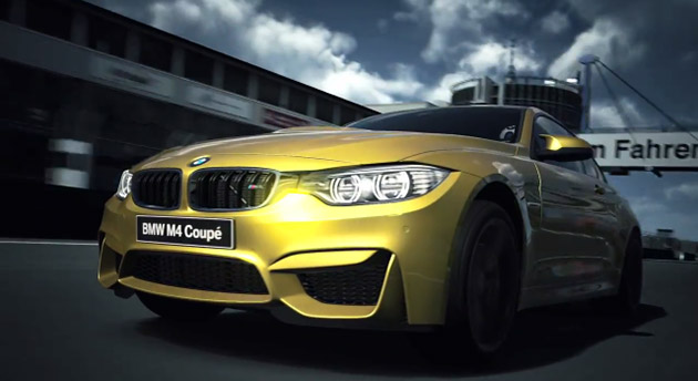 "BMW ""introduced"" the new 2014 M4 Coupé in Sony's Gran Turismo 6 (2013). This is not mere product placement as racing games are more than glorified, interactive advertisements: they represent the only reward for the New Poor. As car ownership is an increasingly unrealistic possibility for the masses, driving becomes virtual reality."