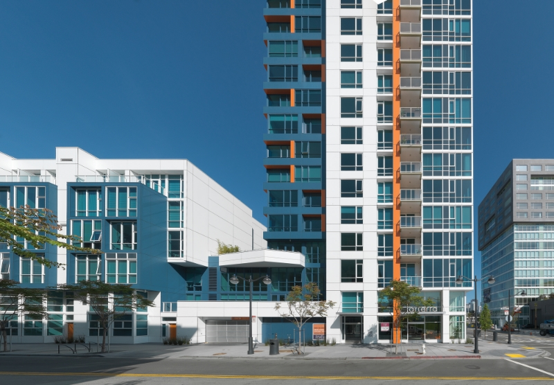 Arterra was California's first LEED SIlver residential high rise community.