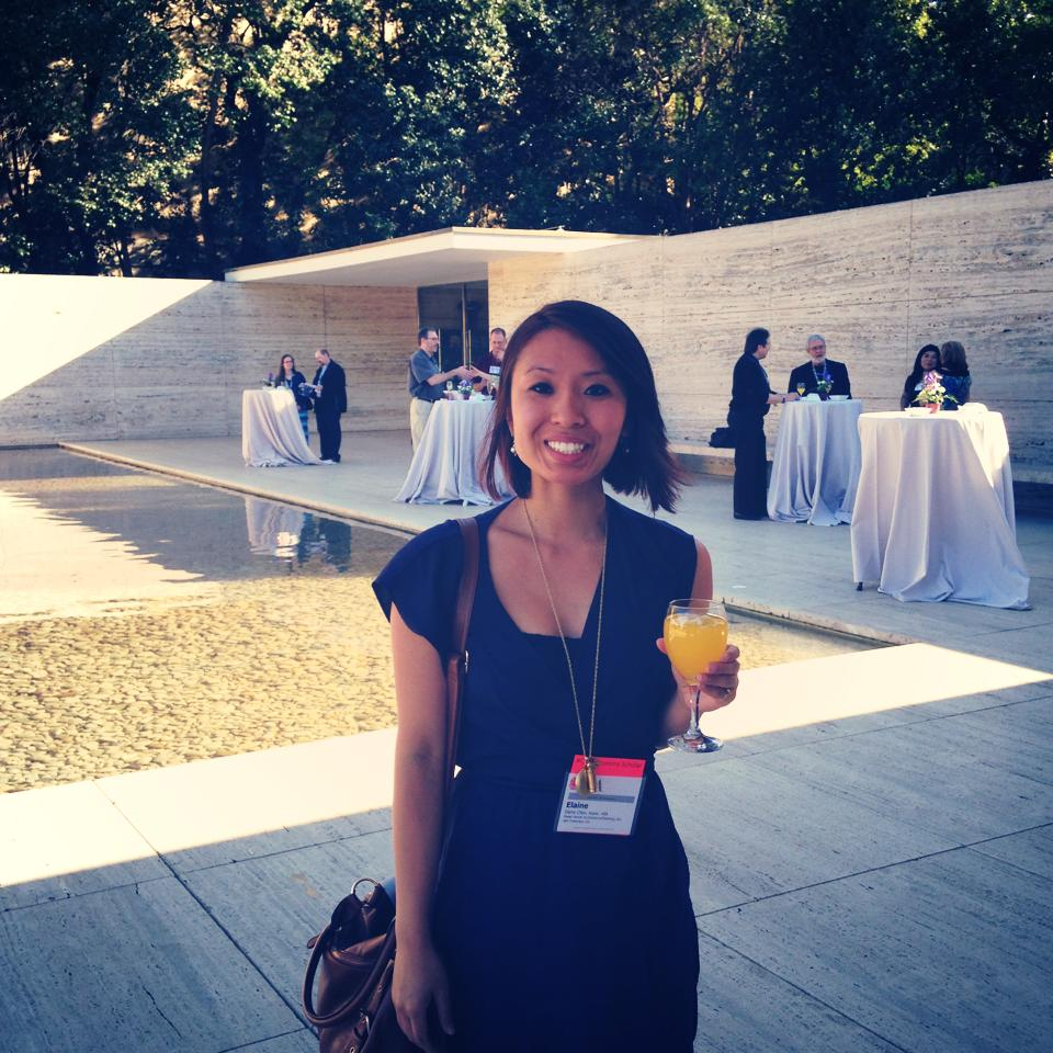 Sipping mimosas and representing Kwan Henmi at the Opening Ceremony in Mies Pavillion. Cheers!