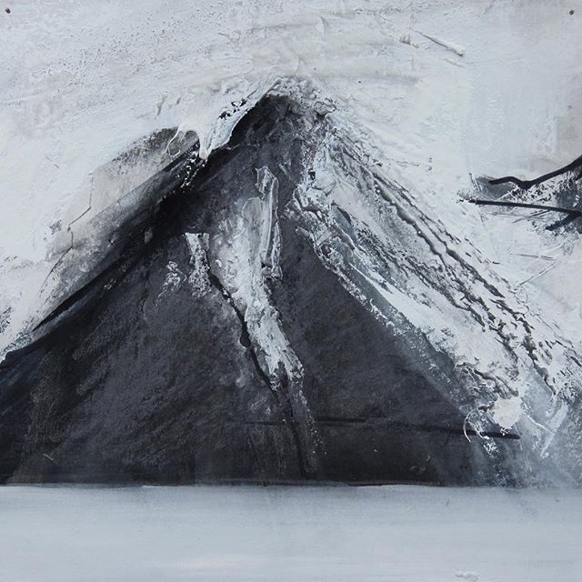 An image from my Iceland trip in 2013, to be included in a POP-UP exhibition at the Doubtfire Gallery in Stockbridge Edinburgh beginning 11th of August. #drawing #akureyri #iceland #ink #gouachepainting #pencil #black #snow #popup #gallery #fire2