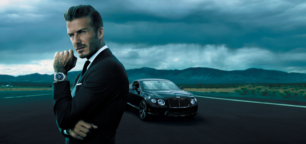 DAVID BECKHAM - BREITLING FOR BENTLEY