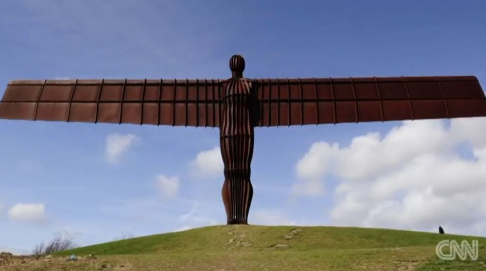 """ANGEL OF THE NORTH"" by Anthony Gormley"