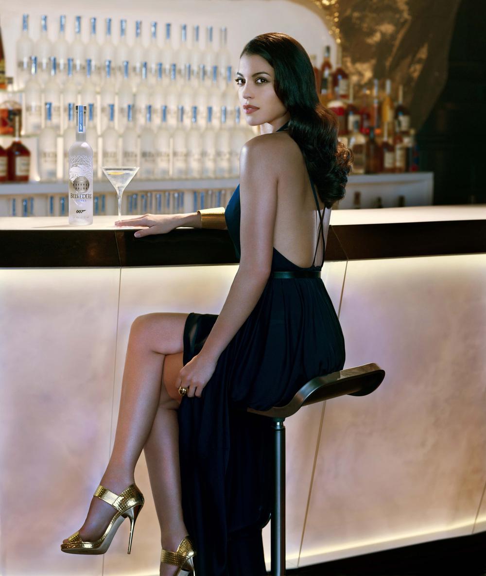 BELVEDERE VODKA - Bondgirl Stephanie Sigman