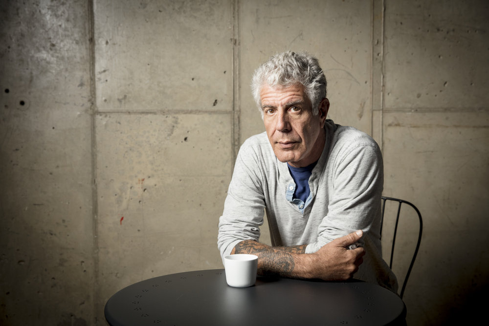 ANTHONY BOURDAIN -