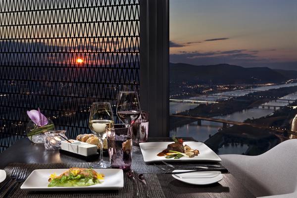 57 Restaurant: Atemberaubender Blick auf Wien