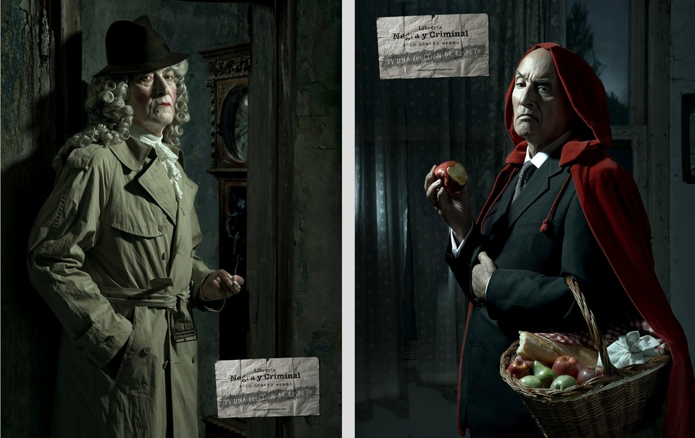 Client: Negra y Criminal Bookstore    Agency: JWT Bcn    Awards: Silver Epic Award