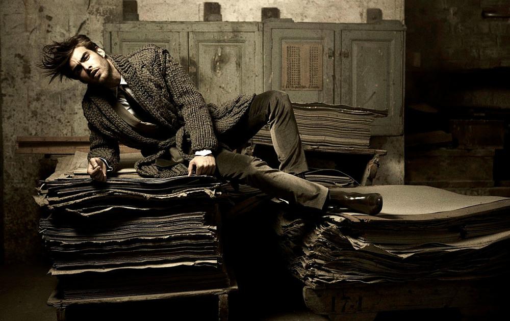 Client: Magazine La Vanguardia  Top-Model Jon Kortajarena