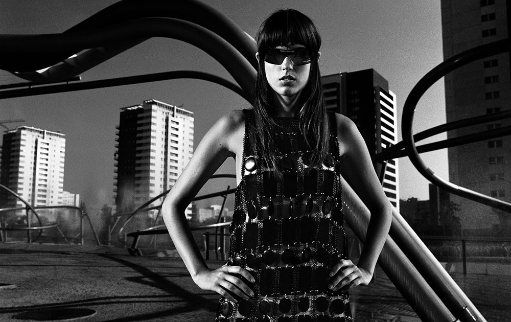 Client: Travesías   Location: Diagonal Mar park,Barcelona  In the DHUB Fashion Photo Collection.