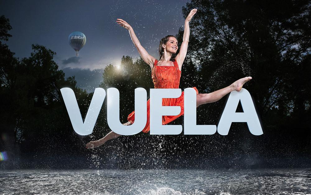Client: TELCEL  1st Mexican Mobile Company.   Agency: La Doble Vida ( México)   Retouch & CGI: Lucas Pigliacampo
