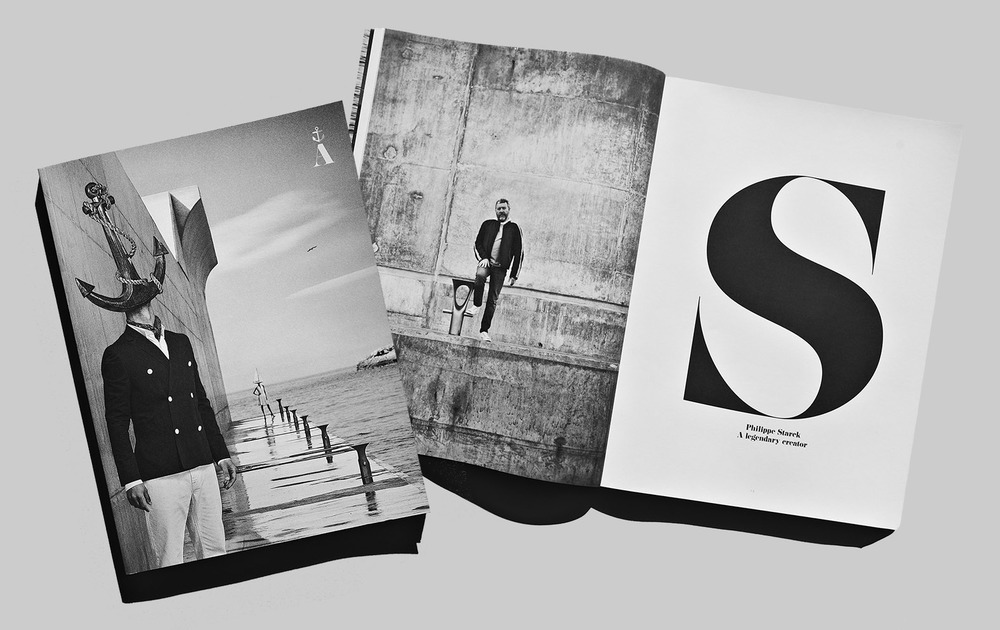 Client: Port Adriano  Smart brochure for Port Adriano.   Agency: Paradigma FCM   Architecture & Design: Philippe Starck