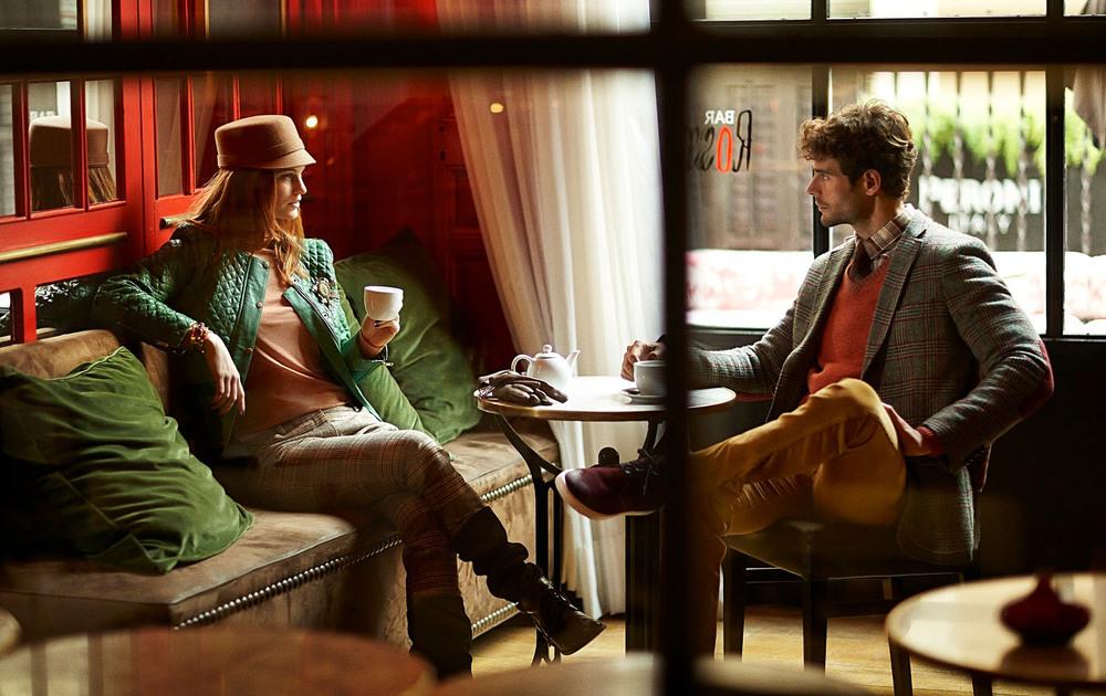 Client:  Magazine La Vanguardia  Fashion editoria.   Model:  Top-models Helen Lindes and Roger Salla   Location:  Hotel Market, Barcelona