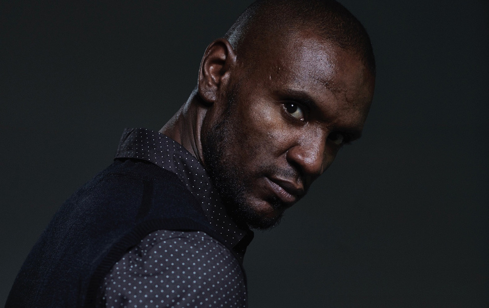Client:  Magazine Four Four Two ( England)  Portrait of the football player Eric Abidal for cover and inside.
