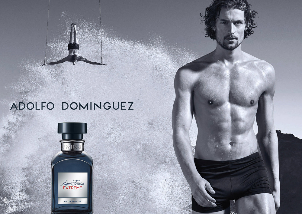 Client:  PUIG   Agency:  Paradigma Barcelona.  Perfum for ADOLFO DOMINGUEZ.   Model:  Top-model Wouter Peelen.