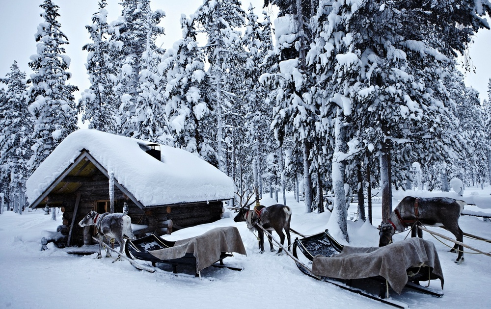 Client:  Revista  Woman and  Travel and Leisure .   Location: Lapland, Finland.