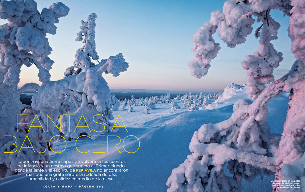 LAPLAND - TRAVEL & LEISURE