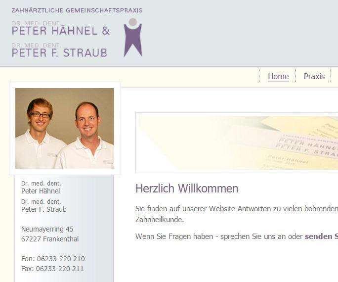 Zahnarztpraxis Haehnel-Straub