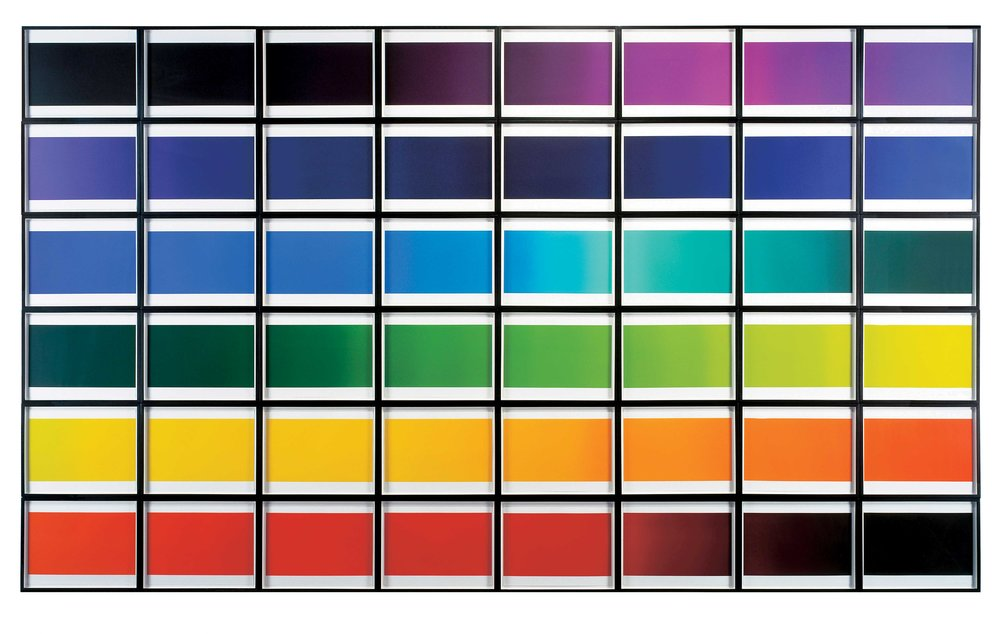 Olafur Eliasson The color spectrum series 2005