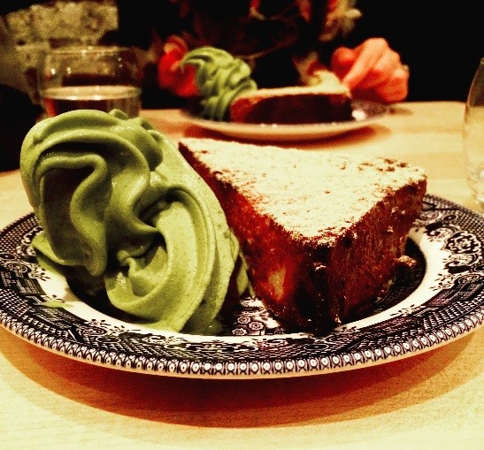 (French toast and matcha ice cream at  Shackfuyu , Soho!)