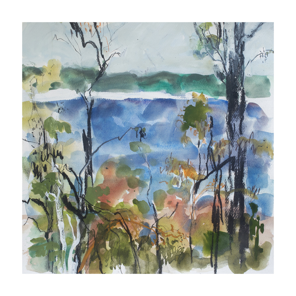Lake Boomanjin #2  fine art print  40 x 40cm