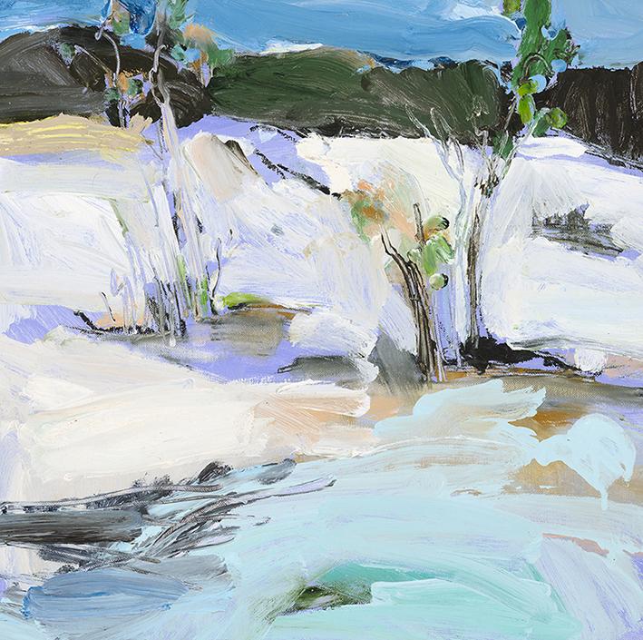 Lake Birrabeen #1 fine art print 40 x 40cm