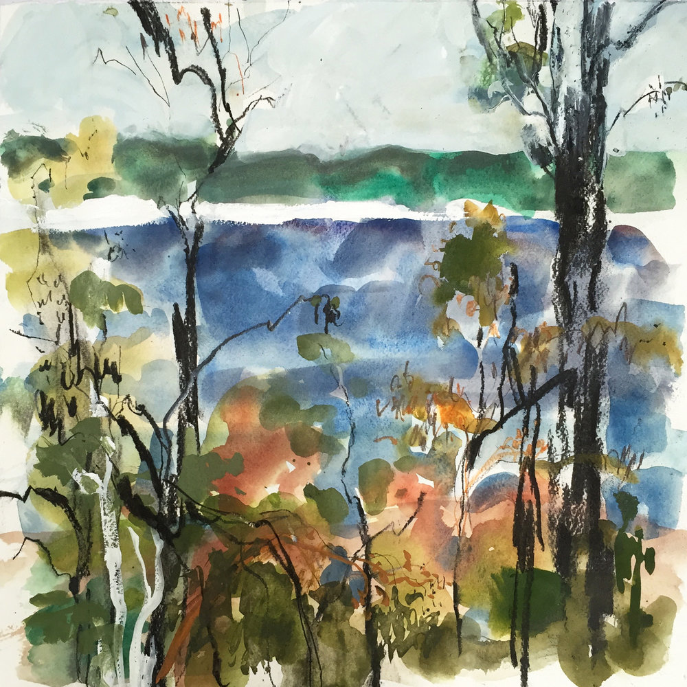 Lake Boomajin #2 mixed media on paper.jpg