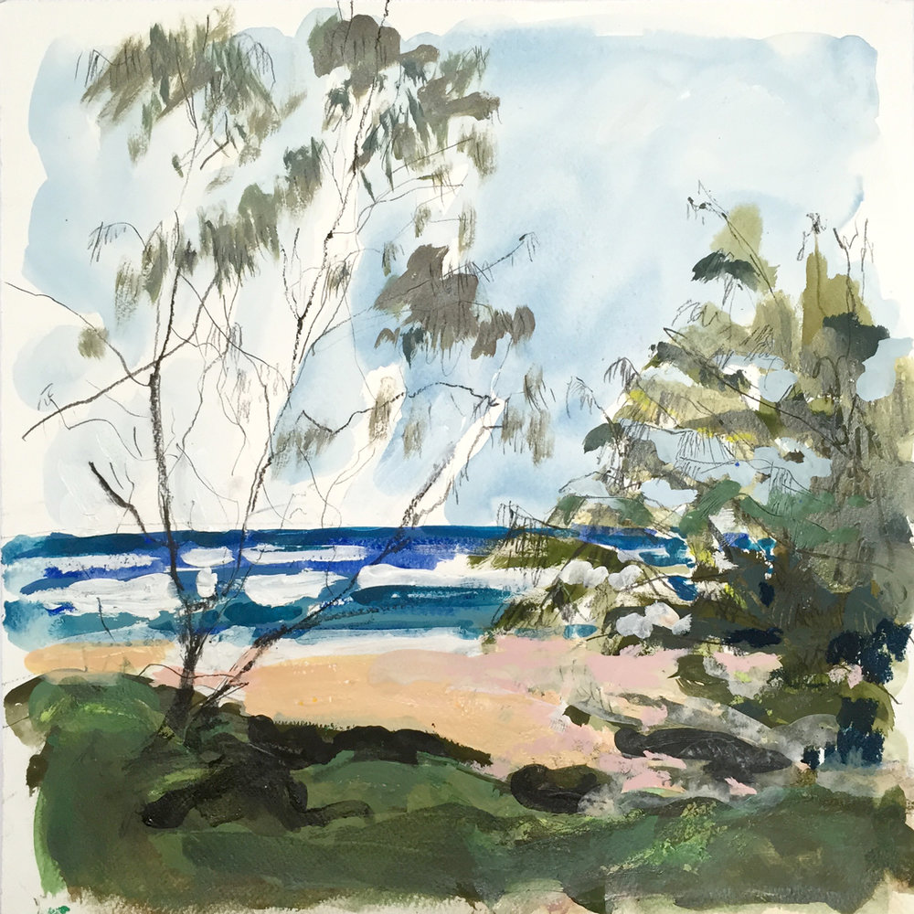 Yidney Beach mixed media on paper.jpg