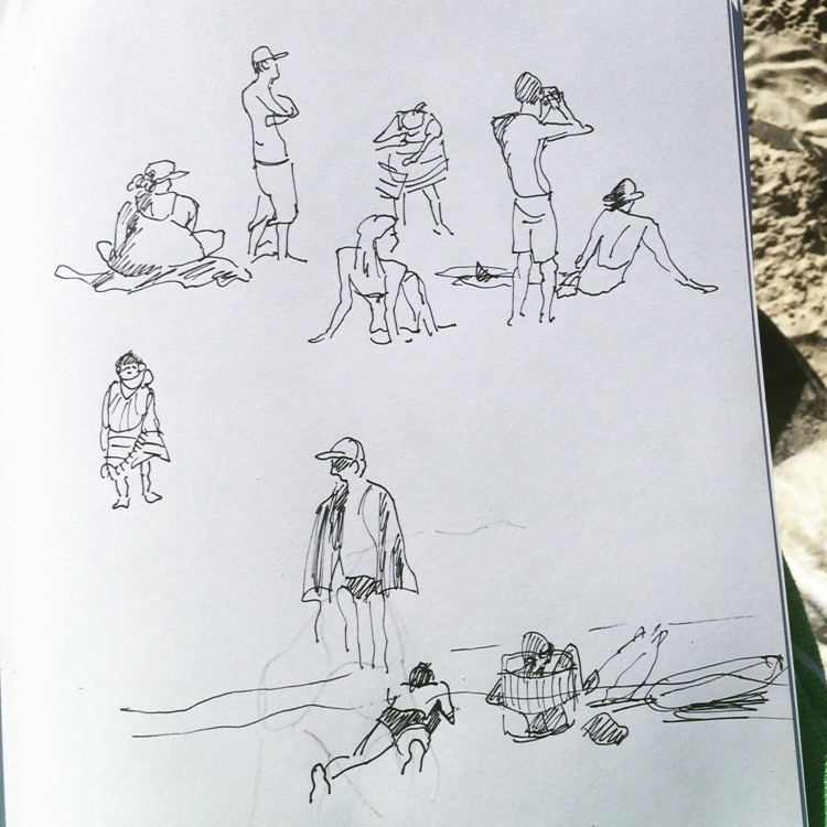 Byron Bay sketchbook