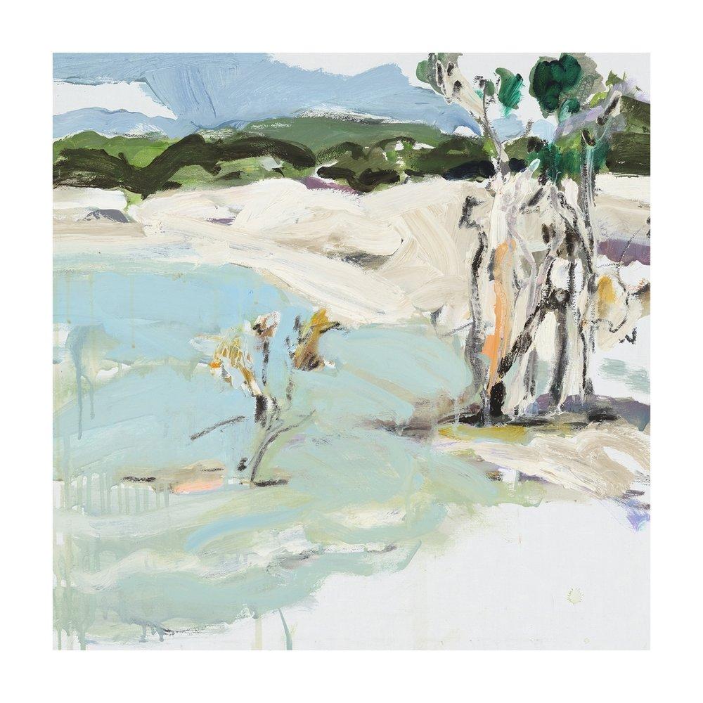 Lake Birrabeen #2 fine art print 40 x 40cm