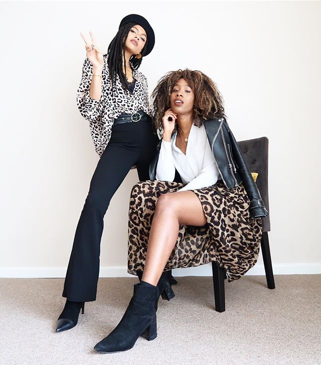 6. Team photo with my absolute fave @samiorenelda. Today we celebrate my birth, and all the joy I bring to Sam's life haha. Yes, leopard print is our official uniform. #BirthdayGirl