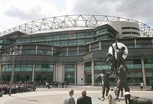 Impressive start:  Among 3PM's list of inaugural clients is the Rugby Football Union, for whom they are managing a major programme of refurbishment and upgrade works at Twickenham Stadium.