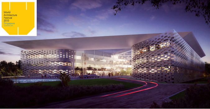 Scott Brownrigg's design for the University of Reading Malaysia Campus at EduCity in Bandar Nusajaya, Johor Bahru, made theFuture Project Education Award shortlist at the 2013 World Architecture Festival.