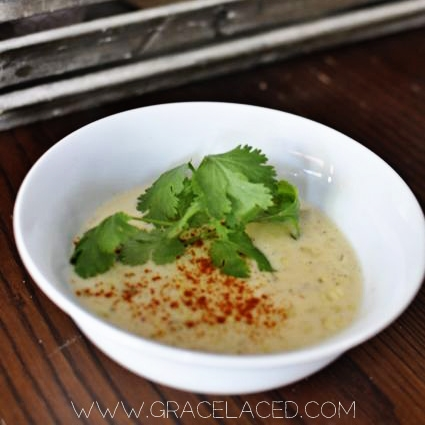 Chipotle Grilled Corn Chowder