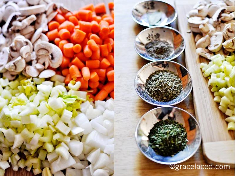 ingredientsFricasee