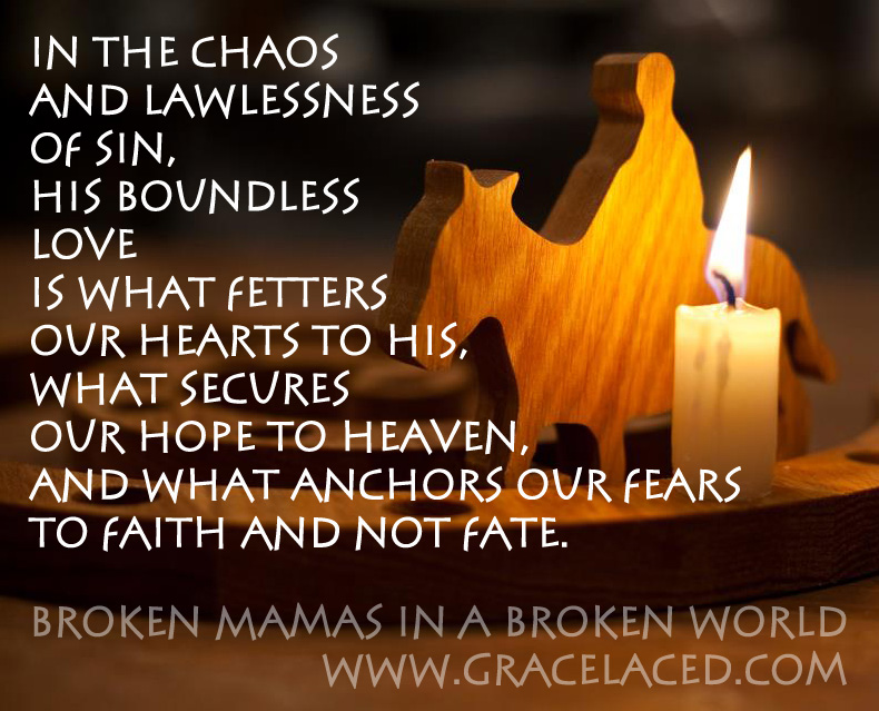 Broken Mamas In A Broken World | gracelaced.com