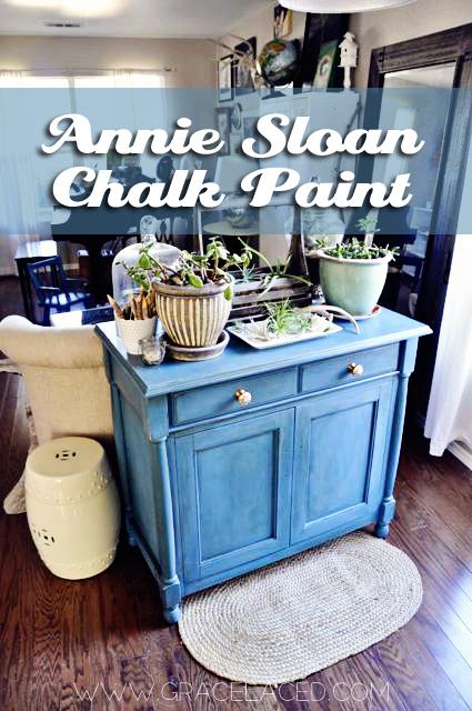 Annie Sloan Chalk Paint Review, Pure White, Aubusson Blue, Provencal