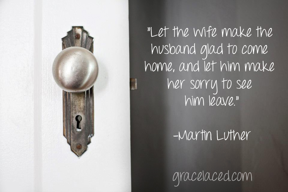 When You Welcome Him Home | gracelaced.com