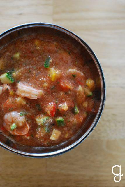 Overnight Shrimp Gazpacho