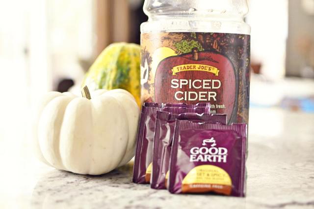 Spiced Apple Herbal Cooler