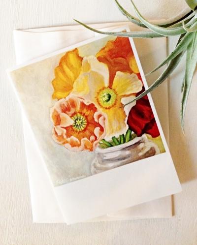 Icelandic Poppies Notecards