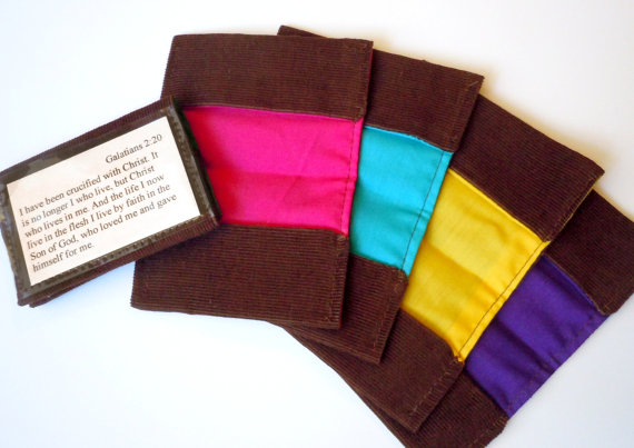 Scripture Memory Card Holders