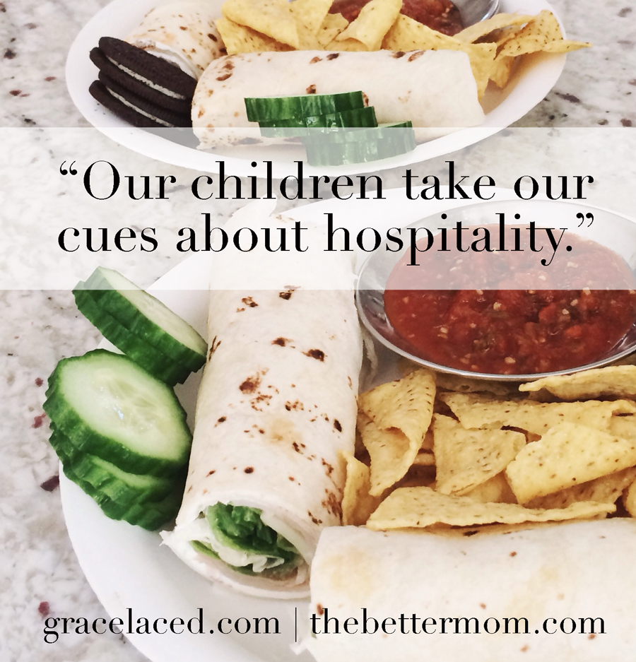 Kids and Hospitality | gracelaced.com