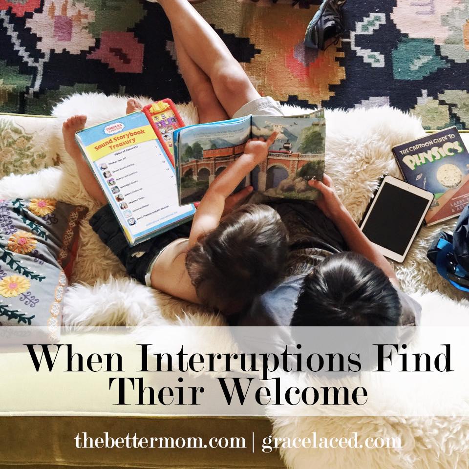 When Interruptions Find Their Welcome