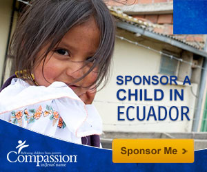 Sponsor with Compassion through GraceLaced