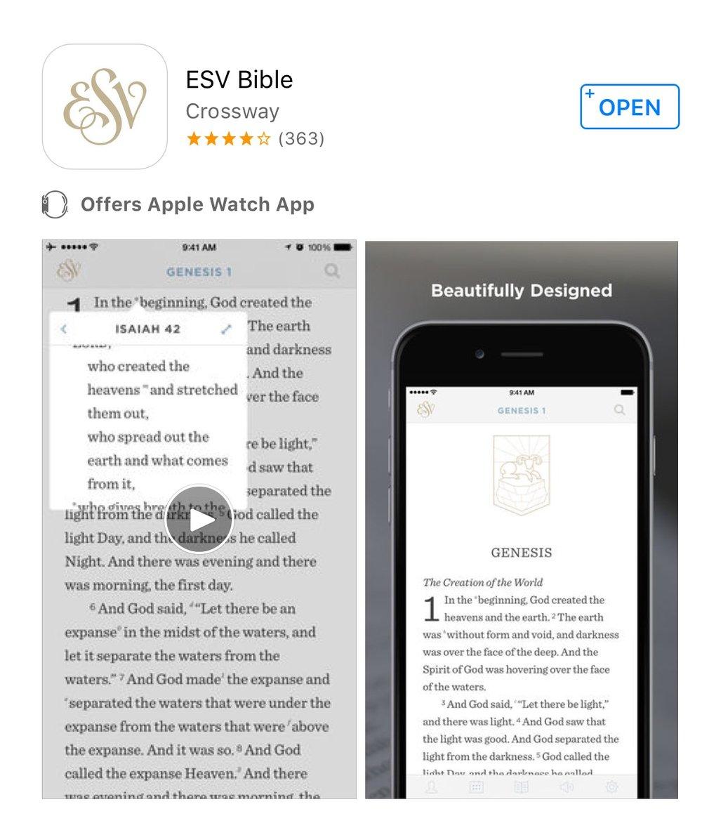 ESV Bible App | gracelaced.com