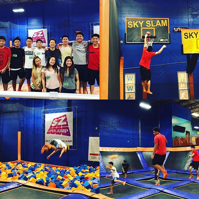 #tbt to our class trip to #skyzone!! We're so proud of our students for working hard all summer. #workhardplayhard #satprep #phillyeducation #theivyadvantage #firsttbt #toomanyhashtags