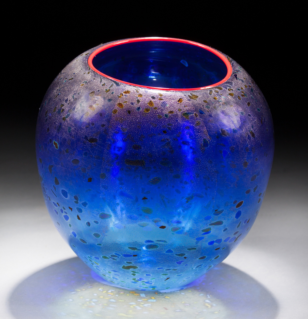 Dale Chihuly Glass Basket