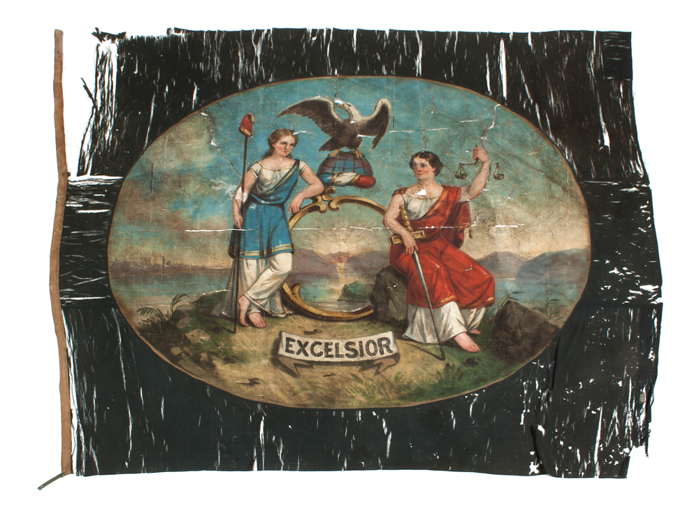Flag Carried by the 45th NY Volunteer Infantry during the Civil War