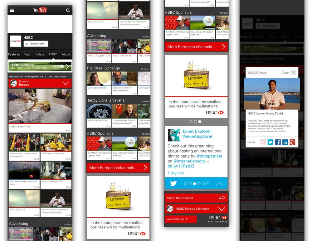 HSBC - Global content platform — James Keane