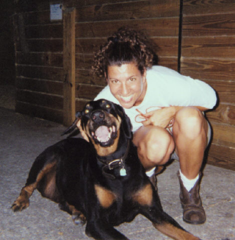 Gina and Mannie 1st year in Florida 1998.jpg