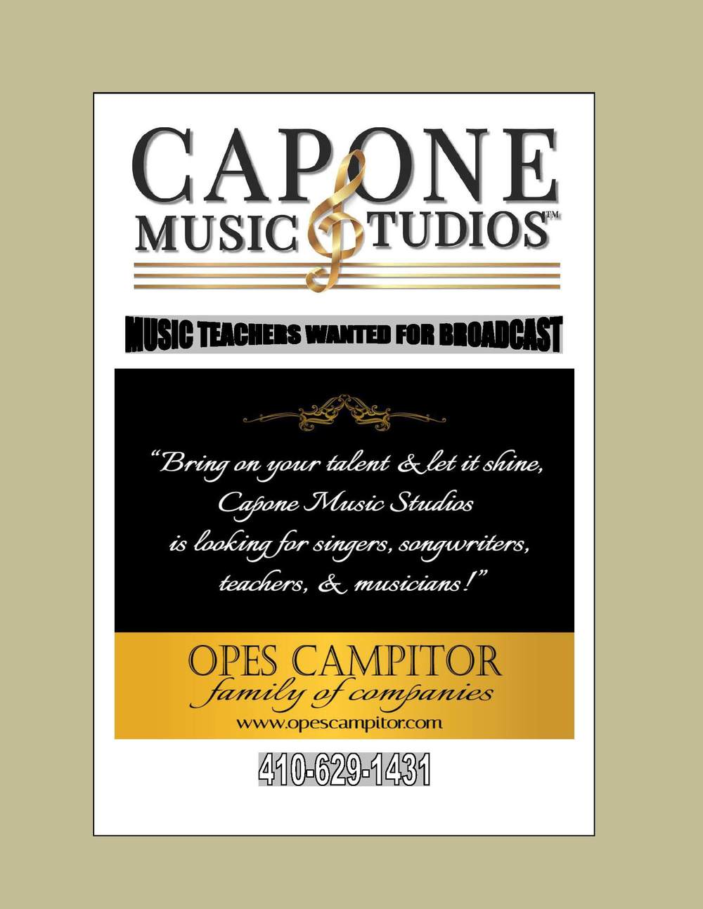 Capone Music Studios Music Teachers Wanted.jpg